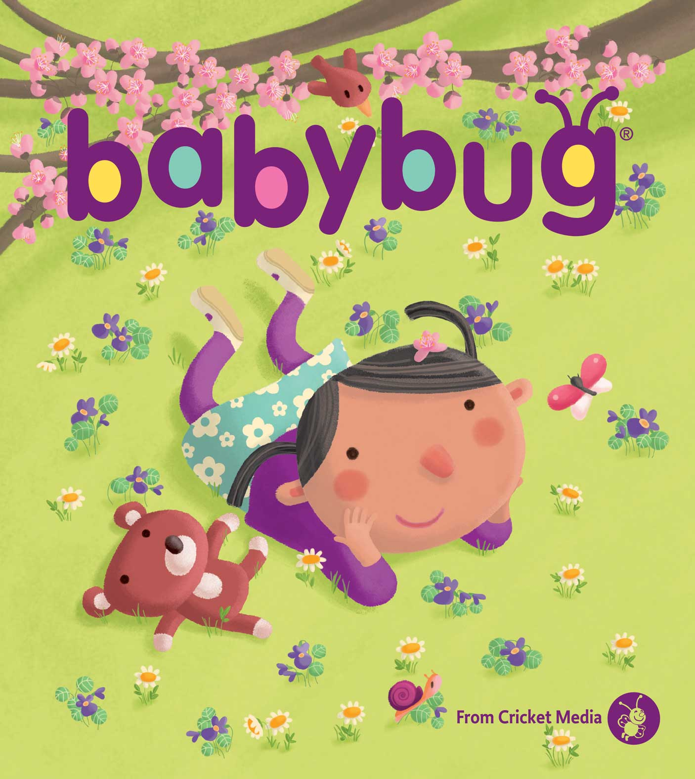 Cricket Media | BABYBUG Magazine April 2017 ISSUE