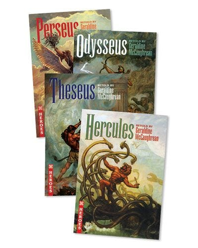 Ancient Heroes Book Series