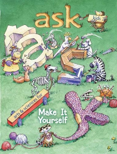 ASK NOVEMBER 2015: Make It Yourself