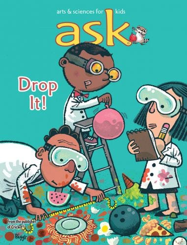 ASK Print + Digital Subscription (One Year) for Kids 6-9
