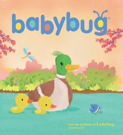 BABYBUG Magazine for Babies 6mo-3yrs: SPECIAL OFFER