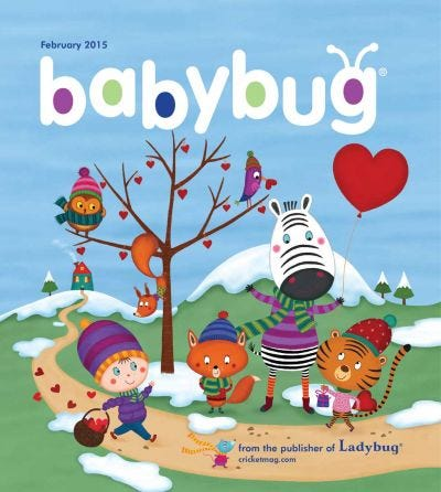 BABYBUG FEBRUARY 2015 ISSUE