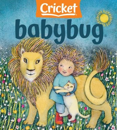 Babybug Print Subscription (One Year) for Toddlers 0-3