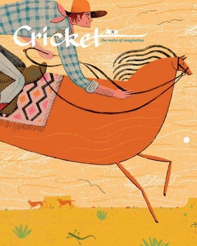 CRICKET APRIL 2014 ISSUE
