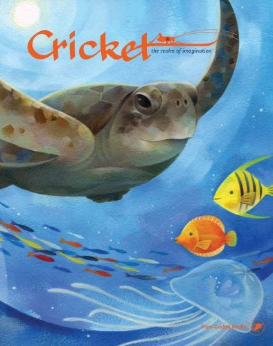 CRICKET July-August 2017