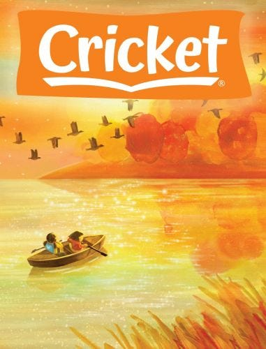 CRICKET Print + Digital Subscription (One Year) for Kids 9-14