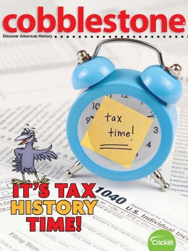 It's Tax History Time!
