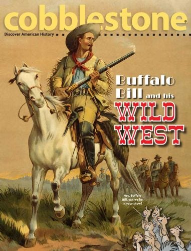 BUFFALO BILL and his WILD WEST