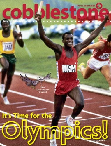 It's Time for the Olympics!