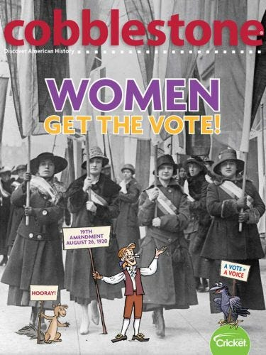 Women Get The Vote!