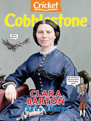 Clara Barton Takes Charge