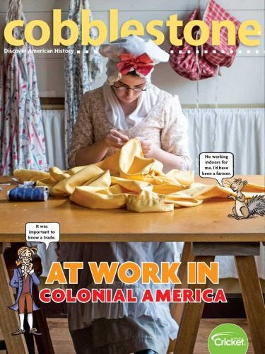 At Work in Colonial America