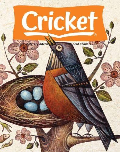 CRICKET Magazine April 2021