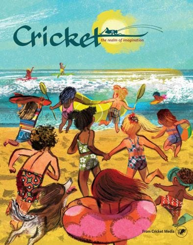 CRICKET July-August 2018