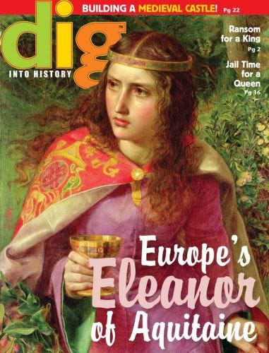 Europe's Eleanor of Aquitane