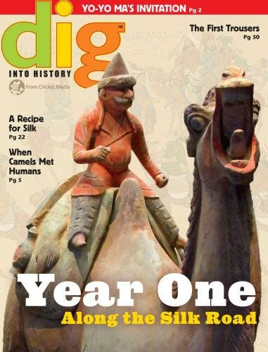 Year One Along the Silk Road