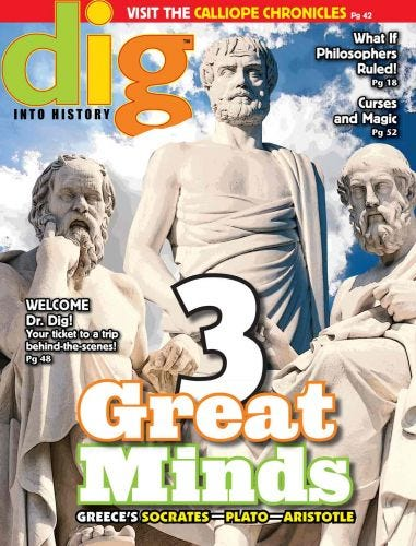 3 Great Minds: Greece's Socrates, Plato, and Aristotle