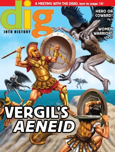 DIG SEPTEMBER 2015: Vergil's Aeneid