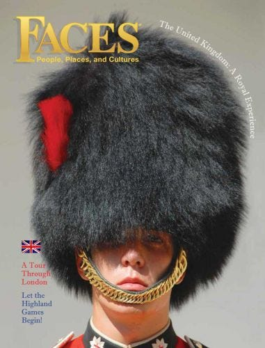 FACES SEPTEMBER 2015: The United Kingdom: A Royal Experience