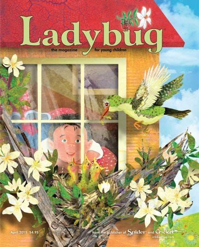 LADYBUG APRIL 2015 ISSUE