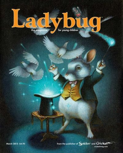 LADYBUG MARCH 2015 ISSUE
