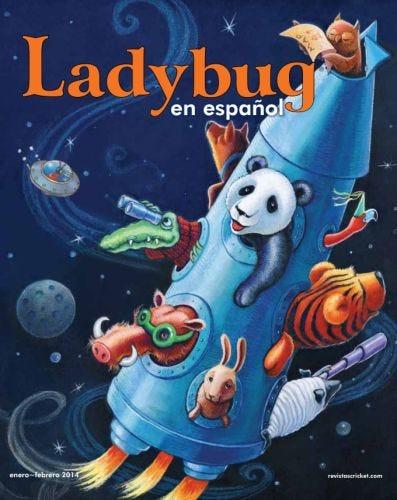 LADYBUG EN ESPANOL JANUARY 2014 ISSUE