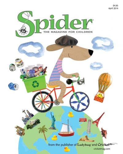SPIDER APRIL 2014 ISSUE