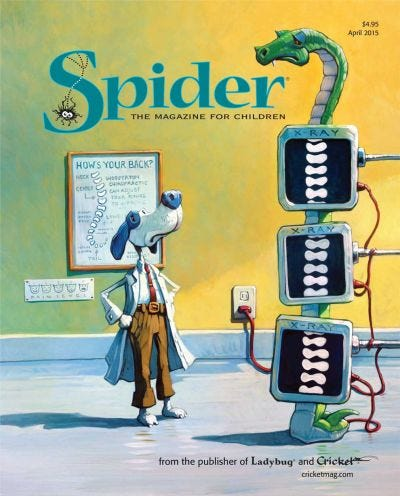 SPIDER APRIL 2015 ISSUE