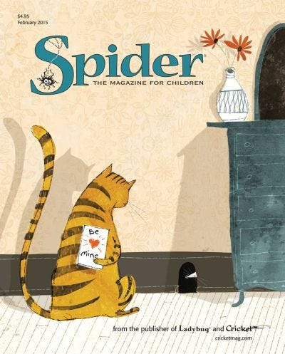 SPIDER FEBRUARY 2015 ISSUE