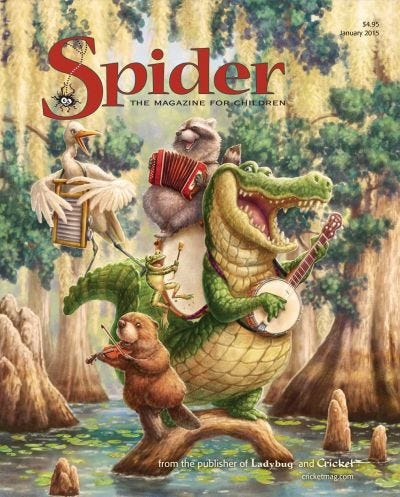 SPIDER JANUARY 2015 ISSUE