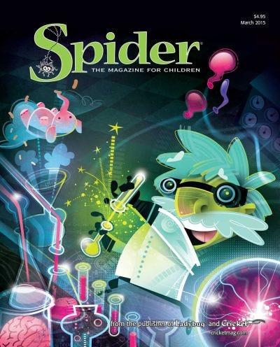 SPIDER MARCH 2015 ISSUE