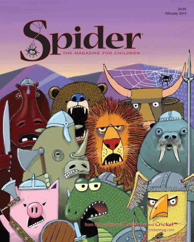 SPIDER FEBRUARY 2014 ISSUE