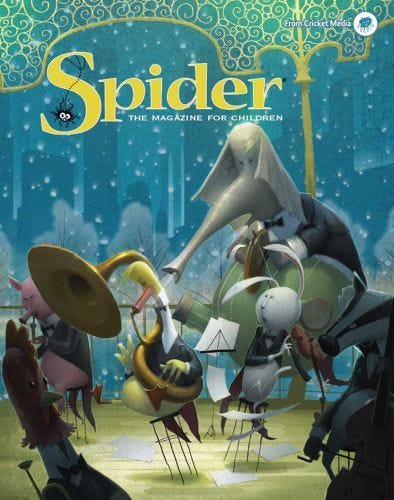 SPIDER January 2018