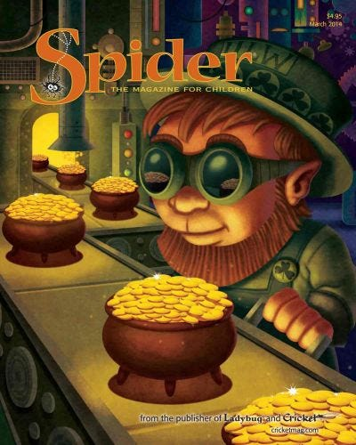 SPIDER MARCH 2014 ISSUE