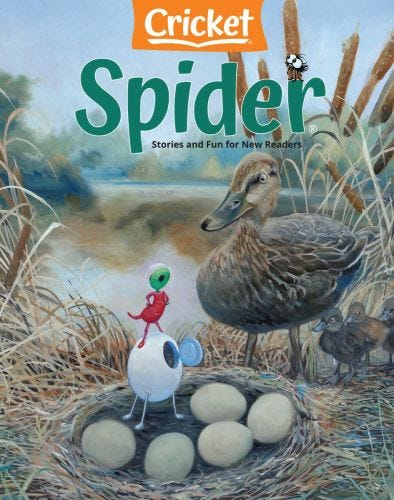 SPIDER Magazine March 2021
