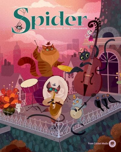 SPIDER May-June 2016
