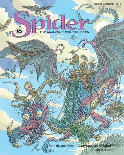 SPIDER NOVEMBER 2014 ISSUE