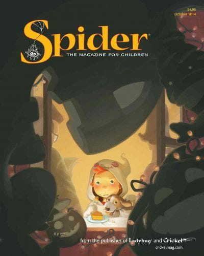 SPIDER OCTOBER 2014 ISSUE