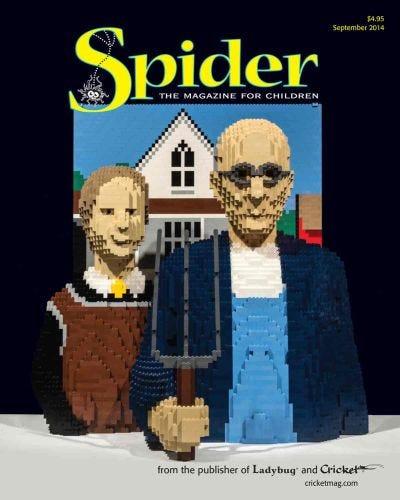 SPIDER SEPTEMBER 2014 ISSUE